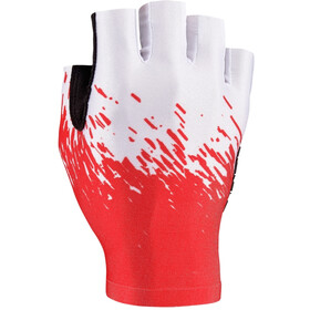 Supacaz SupaG Short Finger Gloves red/white
